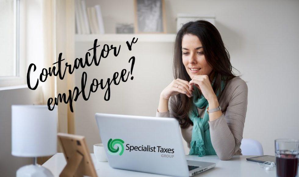 Contractor v Employee