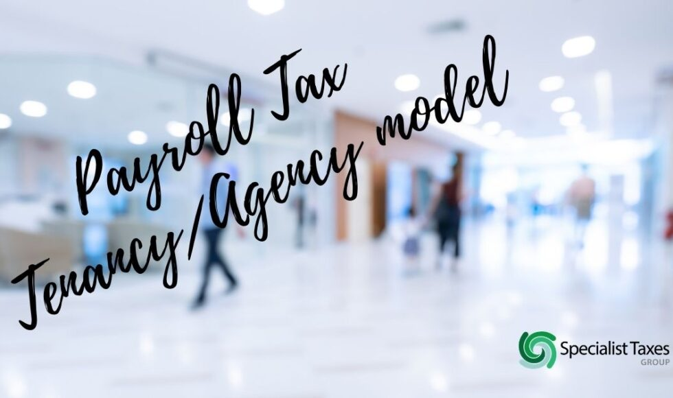 Payroll Tax Tenancy Agency model